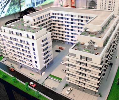 Maquettes ensembles immobiliers