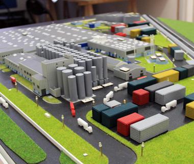 Maquettes industriel-fabriques