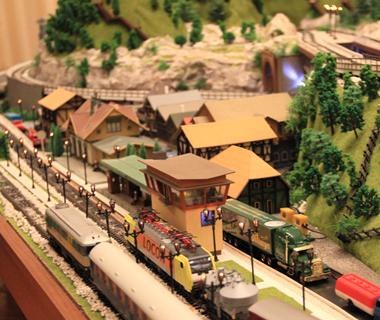 Dioramas et Maquette trains mobile