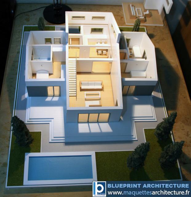 Maquette Architecturale Démontable - Maison - Maquettes D'Architecture