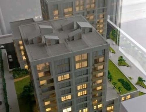 Aviators Park Forte Partners Modèle d'échelle architecturale