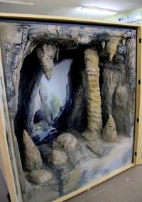 Diorama musée lillustration