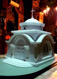 Maquette Chapelle Orthodoxe