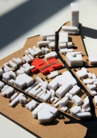Maquette Développement urbain