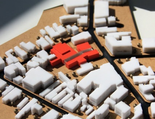 Maquette Développement urbain – Projet de fin