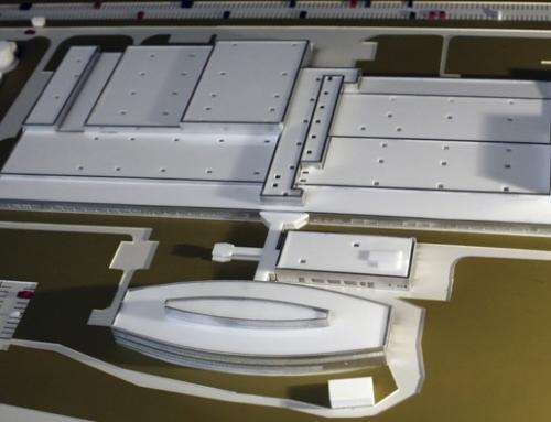 Maquette – Extension de l'usine Continental Sibiu