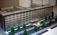 Maquette immeuble de bureaux