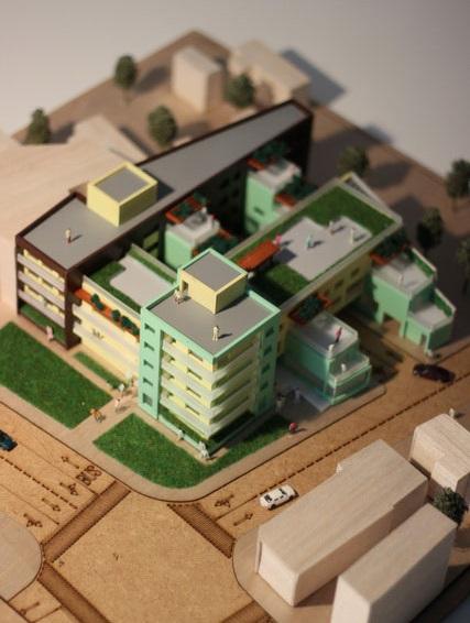 Maquette Immeuble résidentiel