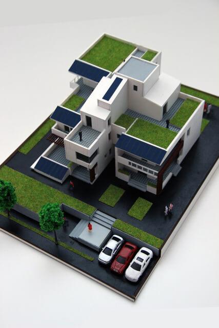 Maquette Maison contemporaine