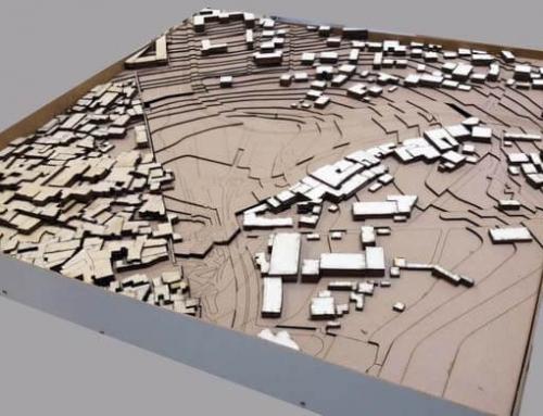 Maquette architecturale de la vieille ville de Jérusalem