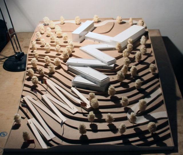 Maquette architecturale Projet