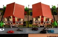 Maquette architecturale détaillée Cartier