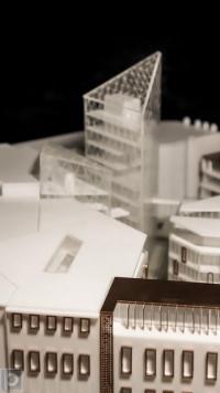Maquette architecturale de Les Galeries