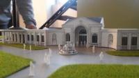 Maquette architecturale de domain