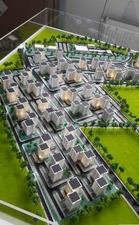 Maquette architecturale de logement