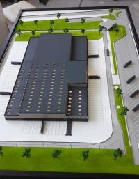 Maquette architecturale modèles d'usine