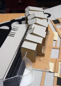 Maquette architecturale centre