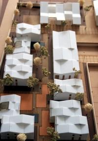 Maquette assemblage de logements