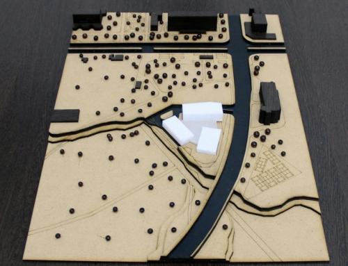 Maquette conceptuelle – Centre multifonctionnel