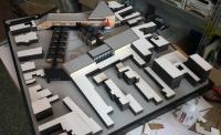 Maquette conceptuelle de architecture