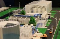 Maquette station dépuration