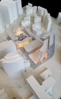 Maquettes architecturales complexe des bureaux