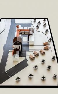 Modèle à léchelle architecturale