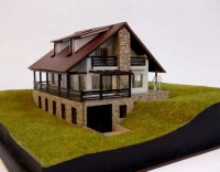 Modèle déchelle architecturale de cabine
