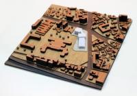 Modèle déchelle darchitecture urbanistique