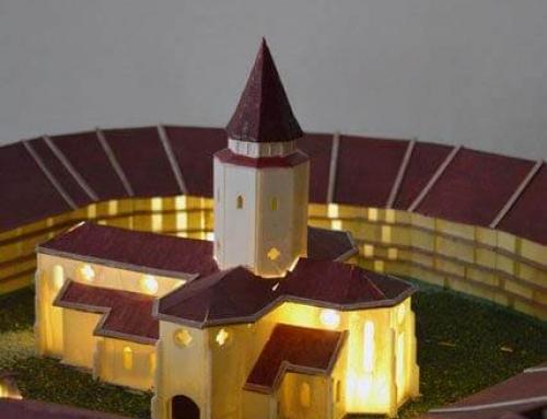 Les maquettes architecturales des châteaux et églises fortifiées de Transylvanie, Prejmer
