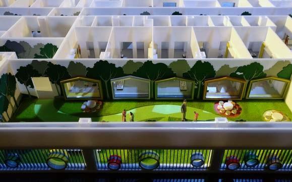 Plan détaillé dun modèle architectural