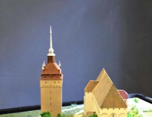 Les maquettes architecturales des châteaux et églises fortifiées de Transylvanie, Saschiz