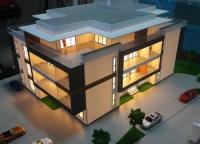 maquette architecturale du batiment residentiel