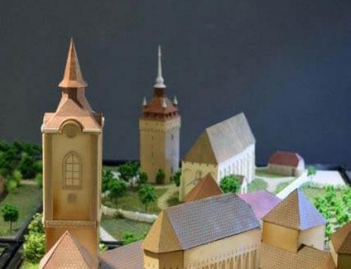 Les maquettes architecturales des châteaux et églises fortifiées de Transylvanie, Darjiu