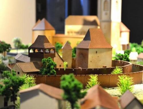 Les maquettes architecturales des châteaux et églises fortifiées de Transylvanie, Calnic
