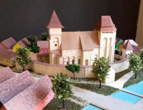 Les maquettes architecturales des châteaux et églises fortifiées de Transylvanie, Valea Viilor