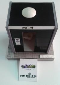 modèle architectural toilette écologique