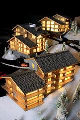 Maquettes des maisons et villas