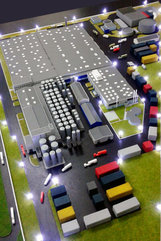 Maquettes industrielles